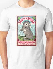 Antique Platypus Matchbox Label Unisex T-Shirt