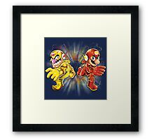 Super Flashy Rivals Framed Print