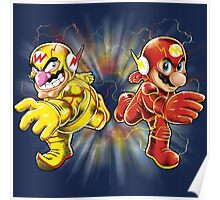 Super Flashy Rivals Poster