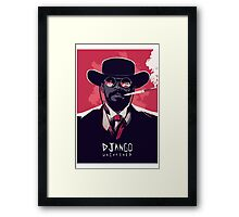 django unchained Framed Print