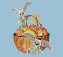 Easter Bunnies Kids Tee