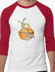 Easter Bunnies Men's Baseball ¾ T-Shirt