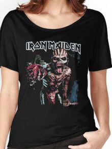 iron maiden the book of souls t shirt Women's Relaxed Fit T-Shirt