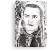 orlando bloom (legolas)... pencil Canvas Print