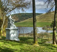 The Ettrick Shepherd and St Mary's Loch by Jamie  Green