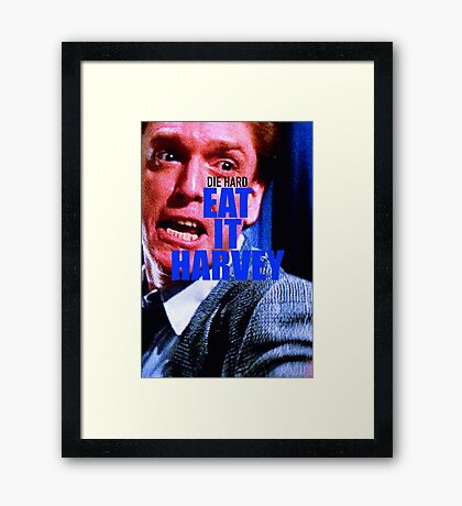 DIE HARD 17 Framed Print