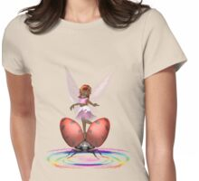 Gentle Faerie  Womens Fitted T-Shirt