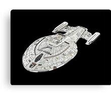 USS Star Trek Voyager Canvas Print