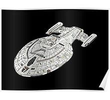 USS Star Trek Voyager Poster