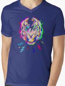 Psychedelic point of view Mens V-Neck T-Shirt