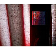 A Different Red Photographic Print