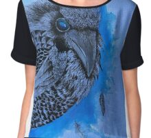 Blue bird Chiffon Top