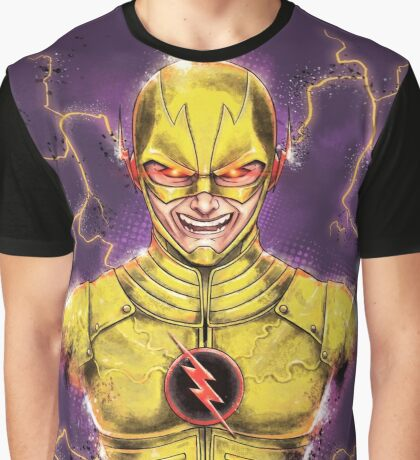 Flashy Villain Graphic T-Shirt