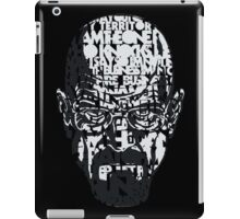 Heisenberg quotes iPad Case/Skin