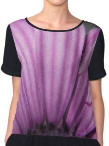 Purple daisy Chiffon Top