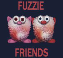 Fuzzie Friends .. Tee Shirts Kids Tee