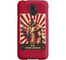 War never changes Samsung Galaxy Case/Skin
