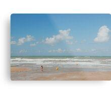 Beach scene  Metal Print