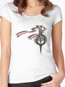 Madoka Grief Seed T-shirt Women's Fitted Scoop T-Shirt