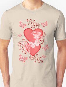 Butterfly Hearts .. Tee Shirt Unisex T-Shirt
