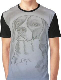 Beagle Sketch Graphic T-Shirt