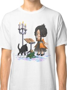 A witch in big trouble .. tee shirt Classic T-Shirt