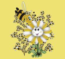 Little Summer Bee  One Piece - Short Sleeve