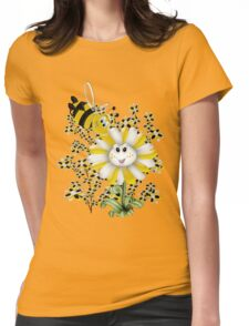 Little Summer Bee  Womens Fitted T-Shirt