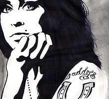 AMY WINEHOUSE Posterized Ilustration by sianbrierley