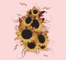 Sunflowers .. tee shirt Kids Clothes