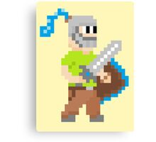 Pixel Knight! Canvas Print
