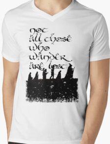 Not all those... Mens V-Neck T-Shirt