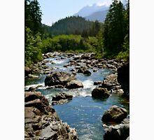 River Through Giant Stones Unisex T-Shirt