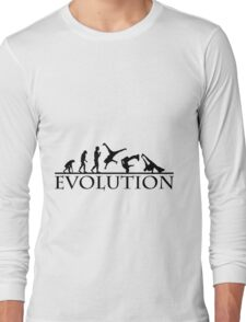 Bboying Evolution Long Sleeve T-Shirt