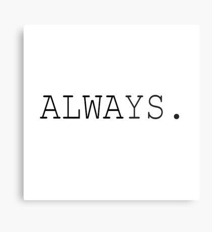 Always - Harry Potter Metal Print