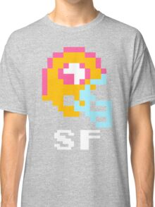 Tecmo Bowl San Francisco 49ers Football 8-Bit NES Nintendo Helmet Shirt T-shirt Classic T-Shirt