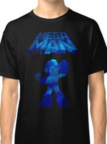 Megaman Minimalist Nebula Design Classic T-Shirt