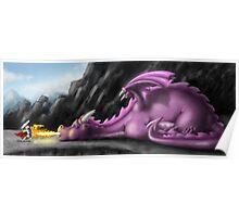 Lazy Dragon Poster