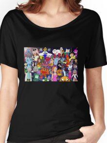 Cartoonolage Women's Relaxed Fit T-Shirt