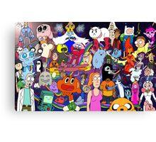 Cartoonolage Canvas Print