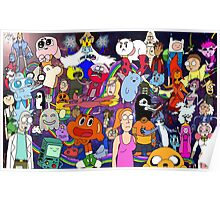 Cartoonolage Poster