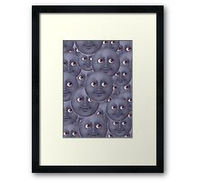 The Moon is Watching Framed Print