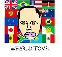 Earl Sweatshirt - Wearld Tour  by emmagroves