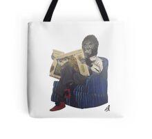 Armchair gorilla Tote Bag