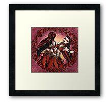 Gemini Tribal Twins Framed Print