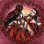 Gemini Tribal Twins by lacychenault