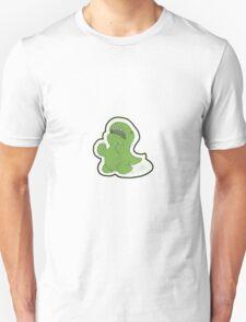 Why Dino - Green Dinosaur Pattern - Dark Unisex T-Shirt