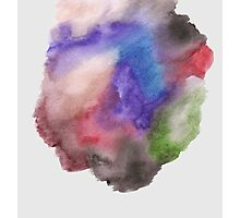 Hand Painted Watercolor Photographic Print
