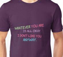 Shel Silverstein Don't Change On My Account Unisex T-Shirt