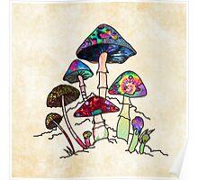 Garden of Shroomz Poster